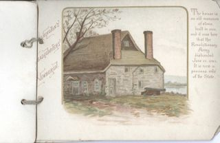 The Hudson River Past and Present; advertising booklet for Scotch Oats.