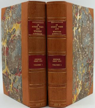 Journals of Two Expeditions of Discovery in Northwest and Western Australia during the Years...