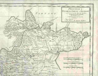 Province I Pe-Che-Li, Che-Li or Li-Pa-Fu, Drawn on the Spot by the Peres Regis, Jartoux &...