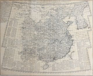 A Map of China, Drawn from those of the particular Provinces made on the Spot by the Jesuit...