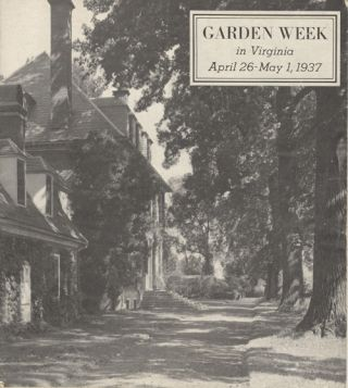 Garden Week in Virginia, 1937