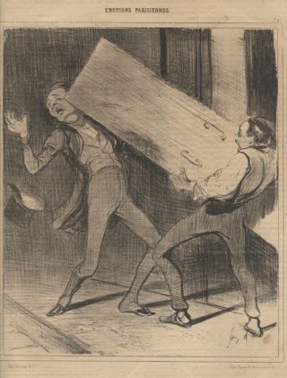 "Emotions Parisiennes (Parisian Emotions) - ""Ah!... Excusez…. Honore Daumier"