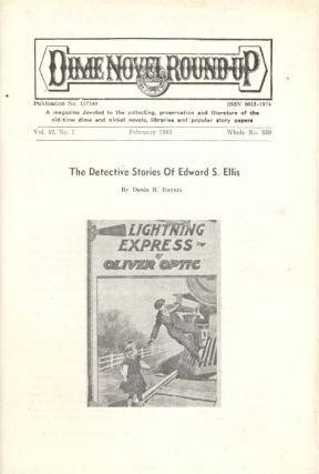 Three Issues of the Dime Novel Roundup, a Supplement and a Catalog