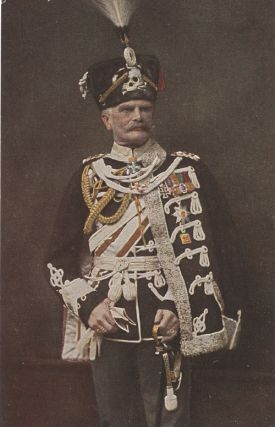 German Royalty and Military Leaders, Seven postcards.