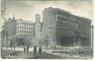 Postcard of The Emporium, San Francisco, Following 1906 Earthquake