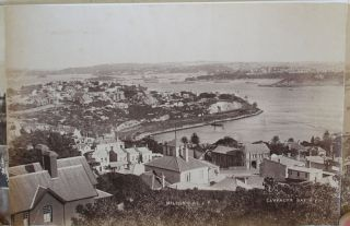 Panoramic Photograph of Sydney Harbour, from the Heads to the Parramatta.