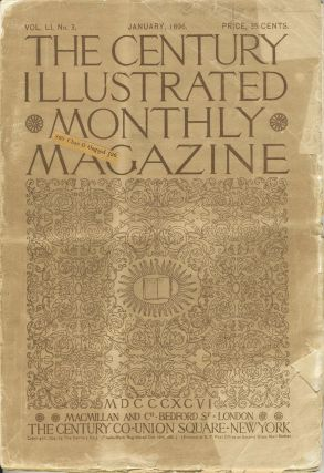 The Century Illustrated Monthly Magazine, Monthly issue for January 1896. Antarctica, A. W....