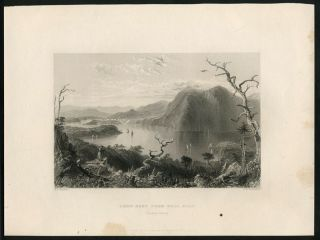 Crow-Nest From Bull Hill (Hudson River.). West Point, W. H. Bartlett