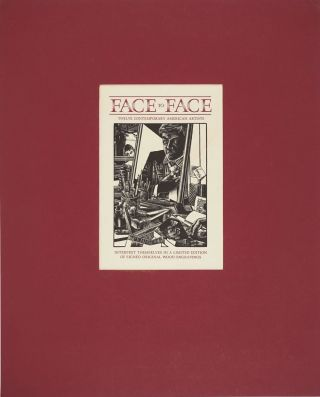 Face to Face. Title page woodblock.