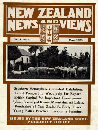 New Zealand News and Views. Magazine