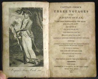 Captain Cook's Three Voyages to the Pacific Ocean. The First performed in the Years 1768, 1769,...