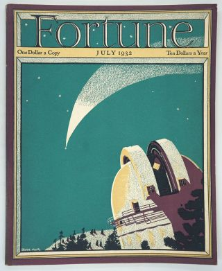 Fortune Magazine, Volume V, Number 7