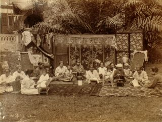 Malay Ladies. Photograph, Malaysia, G. R. Lambert, Co