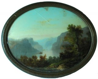 Hudson River School landscape painting