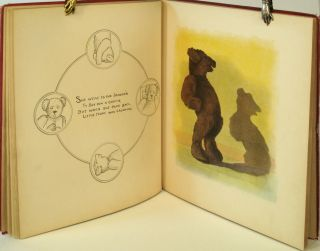 Mother Goose's Teddy Bears Illustrated and adapted to Mother Goose by Frederick L. Cavally.