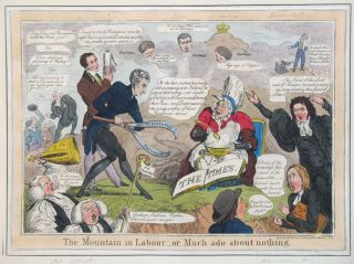The Mountain in Labour - or Much ado about nothing. Ireland, Obstetrics, Thomas McLean