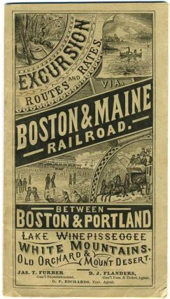 Boston & Maine Railroad. Excursion Routes and Rates.