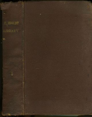 Humboldt Library of Popular Science, 8 bound issues, 1881 - 1885. Edward Clodd, George Rawlinson,...