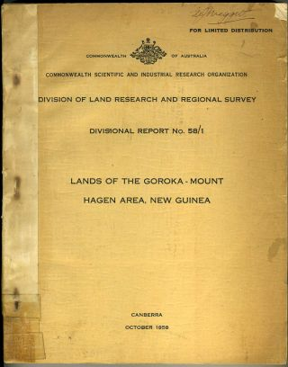 Lands of the Goroka - Mount Hagen Area, New Guinea.