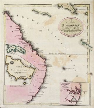 A New and Accurate Map of New South Wales with Norfolk and Lord Howe's Islands Port Jackson & c....