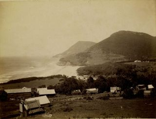 Photograph of Stanwell from Bald Hill, Illawarra, NSW. Henry King