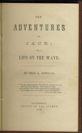 The Adventures of Jack; or a Life on the Wave.