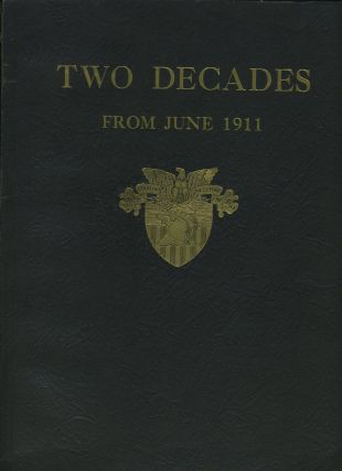 Two Decades from June 1911