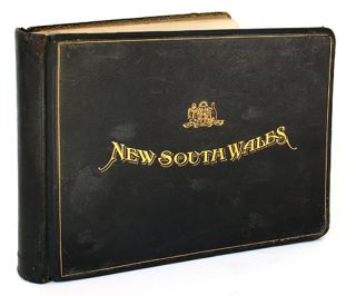 New South Wales. Photographic album presented by the Premier of NSW to Charles P. Skouras,...