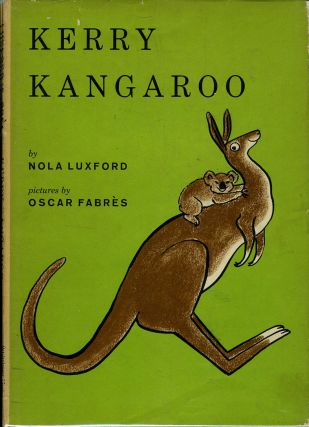 Kerry Kangaroo. Children's, Kangaroo