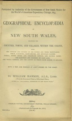 Geographical Encyclopaedia of New South Wales.