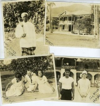 1930s Photos of Samoa