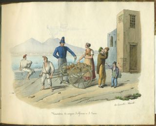 [Collection of Popular Trades and Costumes of Naples].