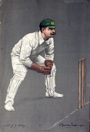 Mr. J. J. Kelly. Cricket, A. Chevallier Taylor