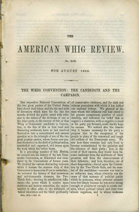 """Bell Flower and Pink"", in The American Whig Review, August 1852. Americana"