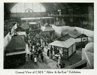 "A Souvenir of ""Africa & the East"". C. M. S. Exhibition, Agricultural Hall, May 17 to June 15, 1922. Pamphlet."