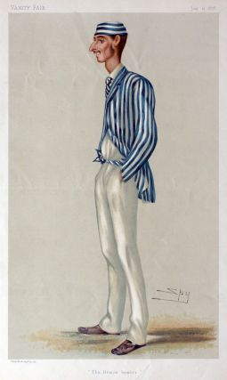 "Vanity Fair Cricket Prints: Frederick Robert Spofforth, ""The Demon Bowler"" Cricket, Vanity Fair, Spy"