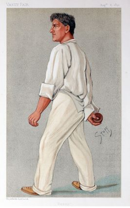 "Vanity Fair Cricket Prints: ""Sammy"" (Samuel Moses James Woods). Cricket, Vanity Fair, Stuff"