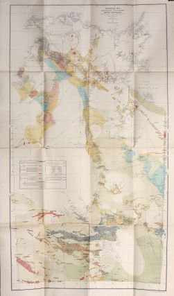 Geological map of the Northern Territory of South Australia / prepared under the authority of the...
