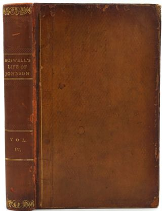 The Life Of Samuel Johnson, LL.D. Comprehending An Account Of His Studies, And Numerous Works, In Chronological Order; A Series Of His Epistolary Correspondence and Conversations with Many Eminent Persons.