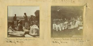 """West Point Class of 1899 """"First Class Camp"""" Photographic album."""