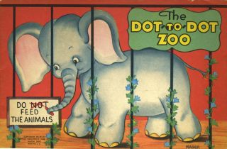 The Dot-to-Dot Zoo. Coloring book with kangaroo. Childrens, Kangaroo, ills