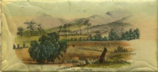 Camerallyn, Australia. Lithograph. T. T. Balcombe, artist