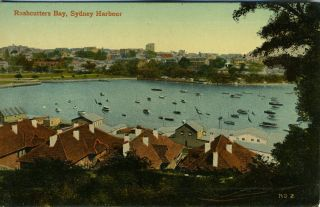 Rushcutters Bay, Sydney Harbour