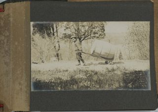 Personal Photo Album of Wappinger's Falls at turn of the century.