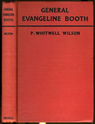 General Evangeline Booth. Signed. P. Whitwell Wilson