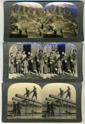 49 Chinese Stereoscopic views, mostly by Keystone. China, Photography.