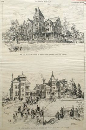 The New Executive Mansion at Albany; and The Vassar Brothers' Hospital at Poughkeepsie, a full...