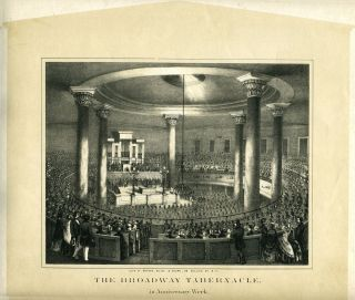 The Broadway Tabernacle in Anniversary Week