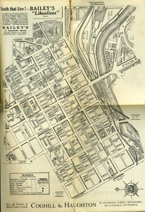 Collins' Street Directory and Public Guide, Melbourne and Suburbs, 1922-3.