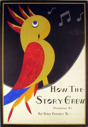 How The Story Grew, original poster art. Girls Friendly Society, Orissa W. Gleason